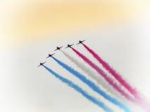 Flugzeuge während der Demonstration im Common Lizenzfreies Stockfoto