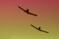 Flugzeuges Stockfotografie