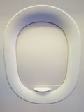 Flugzeugfenster ist geschlossen Stockfotos