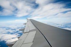 Flugzeugflügel Lizenzfreies Stockfoto