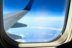 Flugzeugflügel Stockbilder