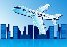 Flugzeugfliege lizenzfreie abbildung