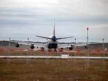 Flugzeugheck Lizenzfreie Stockfotos