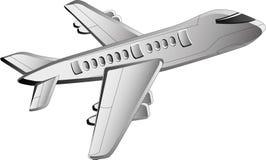 Flugzeugikone lizenzfreie abbildung