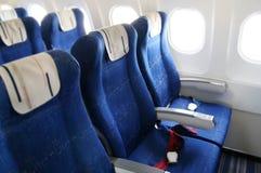 Flugzeuginnenraum lizenzfreie stockfotografie