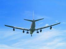 Flugzeuglandung Stockfoto