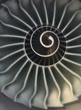 Flugzeugmotor Stockbild