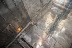 Flugzeugoberteil stockfoto