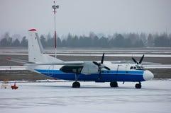 Flugzeugparken lizenzfreie stockfotografie