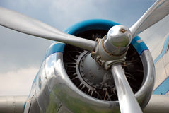 Flugzeugpropeller Stockfotografie