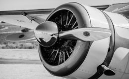 Flugzeugpropeller Stockfoto
