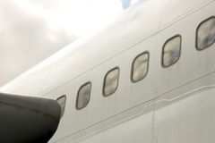 Flugzeugrumpf Lizenzfreies Stockfoto