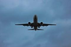 Flugzeugschattenbild Stockfoto
