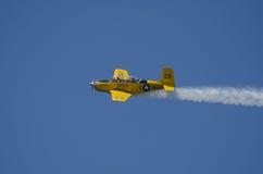 Flugzeugshow stockfoto