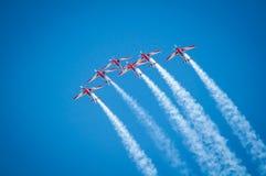 Flugzeugshow stockbilder
