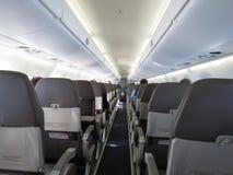 Flugzeugsitze lizenzfreies stockfoto