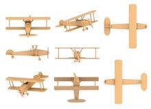 Flugzeugspielzeug Stockbild