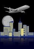 Flugzeugstadt Lizenzfreies Stockfoto
