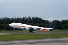 Flugzeugstart Lizenzfreies Stockfoto