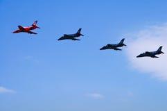 Flugzeugteamwork stockfotos