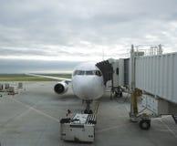 Flugzeugterminal Lizenzfreies Stockbild
