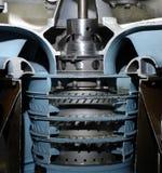 Flugzeugturbine Stockbild