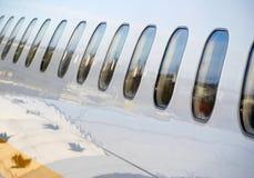 Flugzeugverkehr stockfotografie
