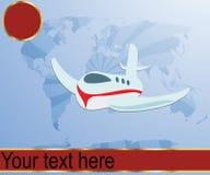 Flugzeugverkehrabbildung Stockbild