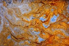 Fluid abstract- liquid art illustration. Acrylic- paint on canvas. Fluid art. Abstract illustration - stain, splashes, smearing the dye. Liquid acrylic- paint on royalty free stock image
