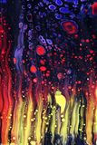 Fluid Art Abstract Art Background. Royalty Free Stock Photo