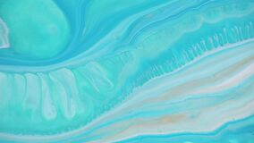 Fluid art drawing video, modern acrylic texture with flowing effect. Liquid paint mixing artwork with splash and swirl