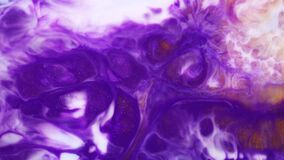Fluid art painting with slow motion. Abstract texture artwork. Liquid background forms design. Colourful liquid motion