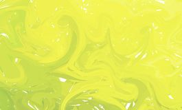 Fluid colorful shapes background. Green and Yellow Trendy gradients. Fluid shapes composition. Abstract Modern Liquid Swirl Marble. Flyer design for background Royalty Free Stock Photography