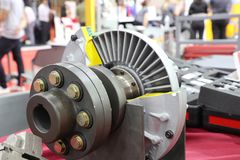 The Fluid Coupling. For transmission motor power stock images