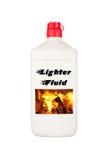 fluid lighter för kol Royaltyfri Fotografi