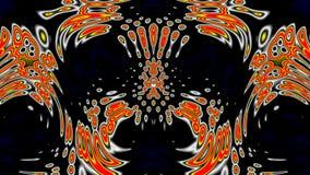 Fluid pattern stock footage