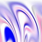 Fluid smoky pink blue shapes, graphics, abstract background Royalty Free Stock Images