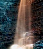 Fluir el agua Fotografía de archivo