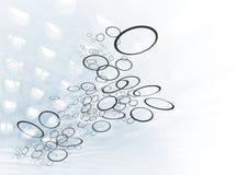 Fluir los anillos Imagen de archivo