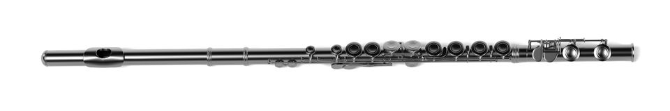 Fluit (muzikaal instrument) royalty-vrije illustratie