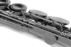 Fluit (muzikaal instrument) stock illustratie