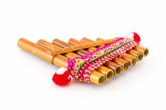 Fluit Siku Stock Fotografie