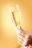 Fluit van champagne Stock Foto's