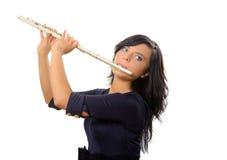 Fluitist Stock Foto's