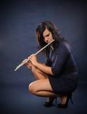 Fluitist Royalty-vrije Stock Foto