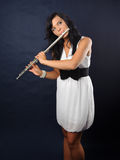 Fluitist Royalty-vrije Stock Afbeelding