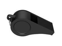 Fluitje dat op Witte Achtergrond, het 3D teruggeven wordt geïsoleerd Stock Fotografie