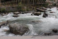 Flujo de agua foto de archivo