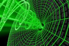 Flujo de datos ilustración del vector