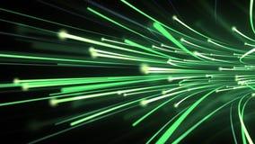 Flujo de datos de fibra óptica ilustración del vector